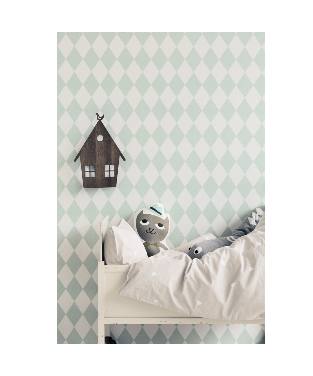 tapete harlequin mint petite catrin. Black Bedroom Furniture Sets. Home Design Ideas
